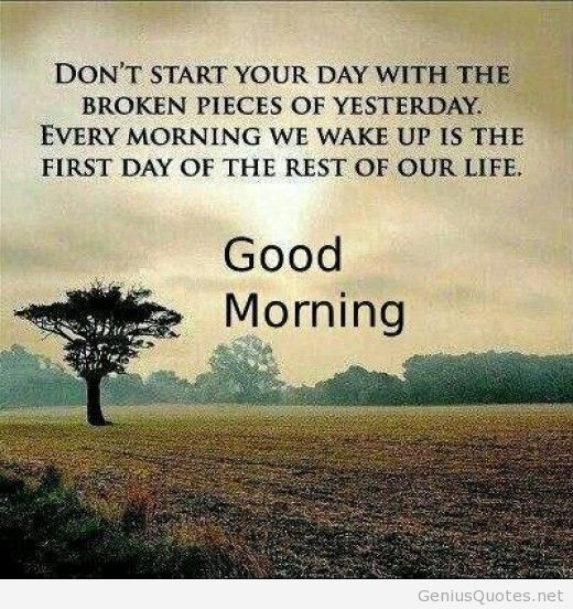 Make Your Mornings Crispy And Crunchy With Good Morning Quotes